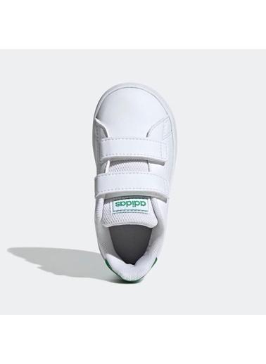 adidas Unisex Çocuk Advantage Spor Ayakkabı EF0301 Beyaz